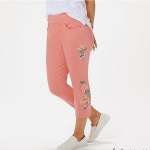 Pants - NWOT Kim Gravel Tripleluxe Twill Cropped Jegging